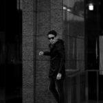 cuervo bopoha (クエルボ ヴァローナ) Sartoria Collection (サルトリア コレクション) Liam (リアム) LIMONTA NYLON (リモンタ ナイロン) ナイロン モッズコート BLACK (ブラック) MADE IN JAPAN (日本製) 2021のイメージ