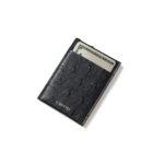 cuervo bopoha (クエルボ ヴァローナ) Thelonious (セロニアス) Ostrich Leather (オーストリッチレザー) カードケース BLACK (ブラック) Made in Japan (日本製) 2021のイメージ