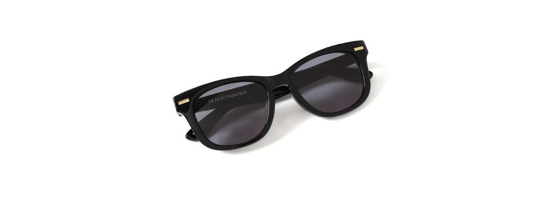 FIXER(フィクサー) BLACK PANTHER(ブラックパンサー) 18K GOLD サングラス BLACK × BLACK SMOKE (ブラック×ブラックスモーク) 【Special Model】【ご予約受付中】のイメージ