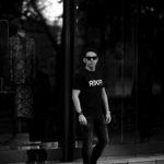 FIXER (フィクサー) FTS-03 Reverse Print Crew Neck T-shirt リバースプリント Tシャツ BLACK (ブラック) 【SOLD OUT】のイメージ