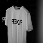 "FIXER ""FTS-03"" Reverse Print Crew Neck T-shirt BLACK,WHITEのイメージ"