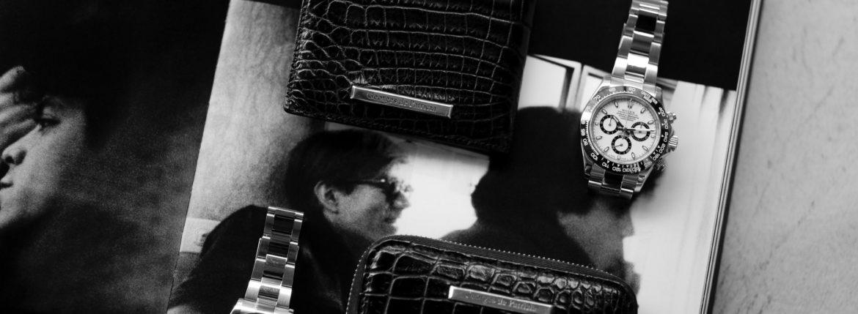"Georges de Patricia ""Cloud Crocodile 925 STERLING SILVER"" × Georges de Patricia ""Phantom Crocodile 925 STERLING SILVER"" × ROLEX ""COSMOGRAPH DAYTONA 116500LN""のイメージ"