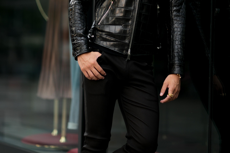 ISAMU KATAYAMA BACKLASH (イサムカタヤマ バックラッシュ) French Deerskin Stretch Leather Pants (フレンチ ディアスキン ストレッチ パンツ) ディアスキン ストレッチ レザー スキニーパンツ BLACK (ブラック) MADE IN JAPAN (日本製) 2021 【Special Model】【Alto e Diritto別注】【5本限定】愛知 名古屋 altoediritto