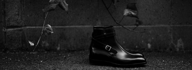 JOHN LOBB (ジョンロブ) ABBOT (アボット) 8695B Jodhpur Boots Black Calf ブラックカーフレザー ジョッパーブーツ BLACK (ブラック) Made In England (イギリス製) 2021のイメージ