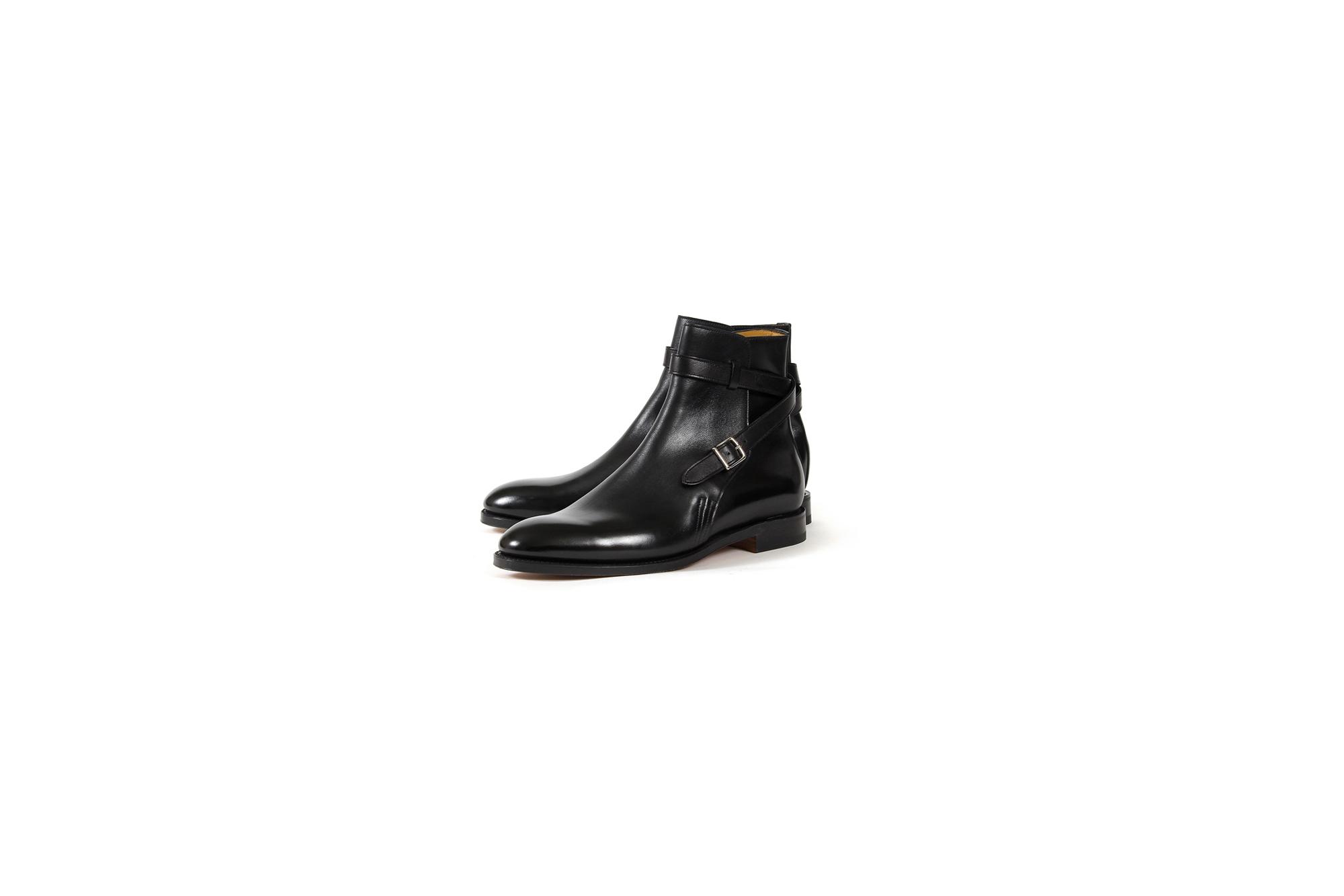 JOHN LOBB (ジョンロブ) ABBOT (アボット) 8695B Jodhpur Boots Black Calf ブラックカーフレザー ジョッパーブーツ BLACK (ブラック) Made In England (イギリス製) 2021 愛知 名古屋 Alto e Diritto altoediritto アルトエデリット ブーツ レザーブーツ johnlobbブーツ