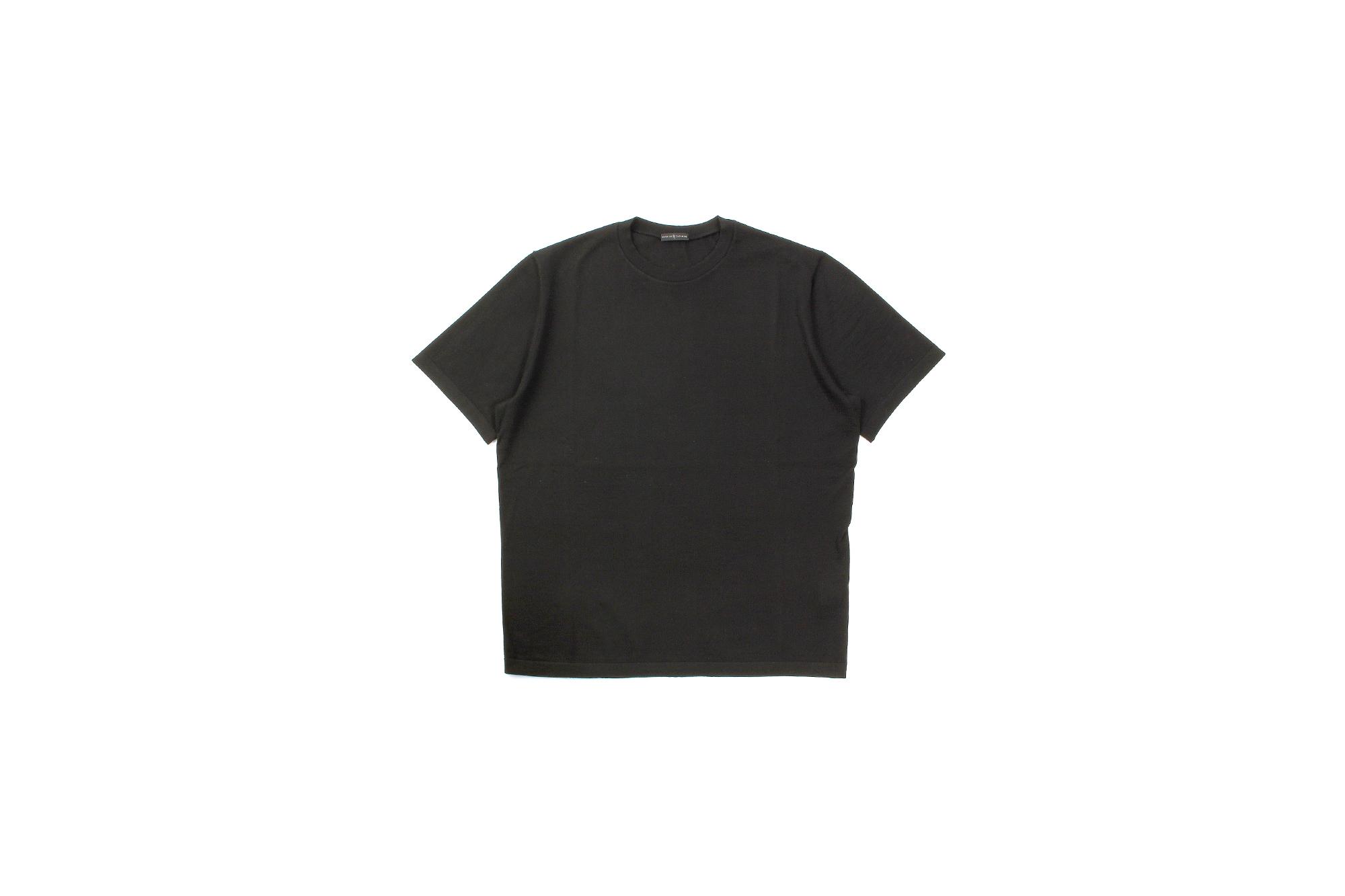 MANRICO CASHMERE (マンリコ カシミア) Ultra light Cashmere Crew Neck T-Shirts (ウルトラライトカシミア クルーネック Tシャツ) ハイゲージ アラシャンカシミヤ サマーニット Tシャツ made in italy (イタリア製) 2021 春夏 【ご予約受付中】【全16色】愛知 名古屋 Alto e Diritto アルトエデリット