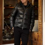 """MOORER """"BRET-PE"""" Leather Down Jacket 2021AW /// VISONE(ベージュ・33),MORO(ブラウン・35),FOMO(オリーブ・07),BLUE(ネイビー・76),NERO(ブラック・08) 【2021 秋冬 受注会開催 2020.12.30(Wed)~2021.1.11(Mon)】 愛知 名古屋 Alto e Dirtto altoediritto アルトエデリット ムーレー ダウンジャケット BRET ONIRO FANTONI BOLGI BOND FAYER HELSINKI HARRIS BARBIERI SIRO MORRIS ダウンコート ダウンベスト ダウン"""
