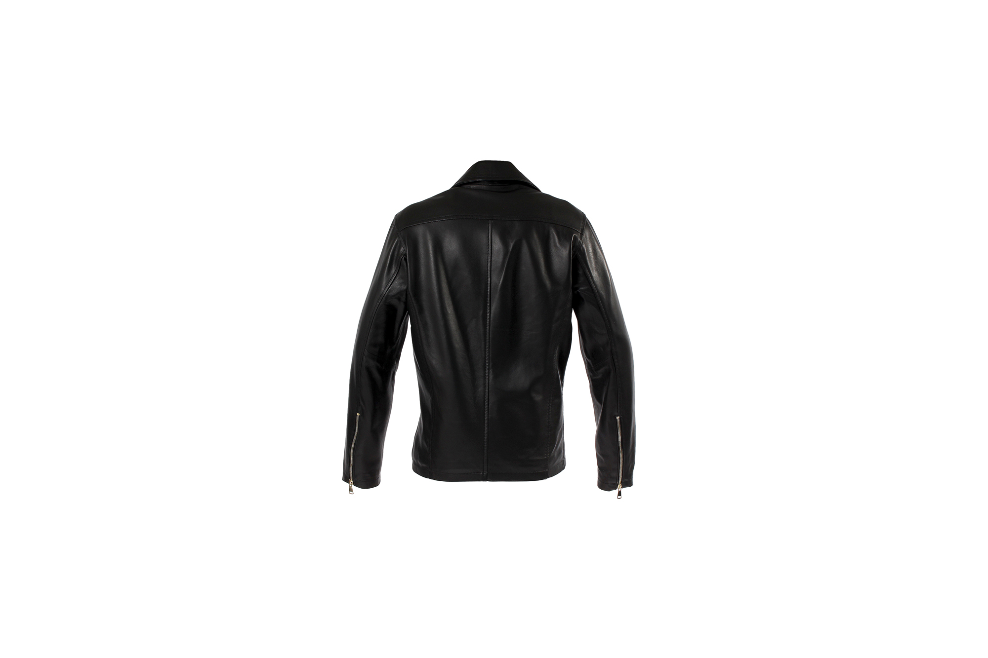 SILENCE (サイレンス) Double Riders Jacket (ダブル ライダース ジャケット) Goatskin Leather (ゴートスキンレザー) GOLD ZIP (ゴールドジップ) レザー ライダース ジャケット NERO GOLD ZIP (ブラックゴールドジップ) Made in italy (イタリア製) 2021 春夏新作 愛知 名古屋 Alto e Diritto altoediritto アルトエデリット
