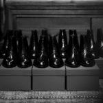 AUBERCY (オーベルシー) HUGH Lace up boots (ヒュー) Du Puy Vitello デュプイ社ボックスカーフ レースアップブーツ NERO (ブラック) made in italy (イタリア製) 2021 春夏新作のイメージ
