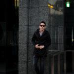 cuervo bopoha (クエルボ ヴァローナ) Sartoria Collection (サルトリア コレクション) Liam (リアム) LIMONTA NYLON (リモンタ ナイロン) ナイロン モッズコート BLACK (ブラック) MADE IN JAPAN (日本製) 2021 【ご予約開始】のイメージ