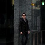 cuervo bopoha (クエルボ ヴァローナ) Sartoria Collection (サルトリア コレクション) Liam (リアム) LIMONTA NYLON (リモンタ ナイロン) ナイロン モッズコート BLACK (ブラック) MADE IN JAPAN (日本製) 2021 【ご予約受付中】のイメージ