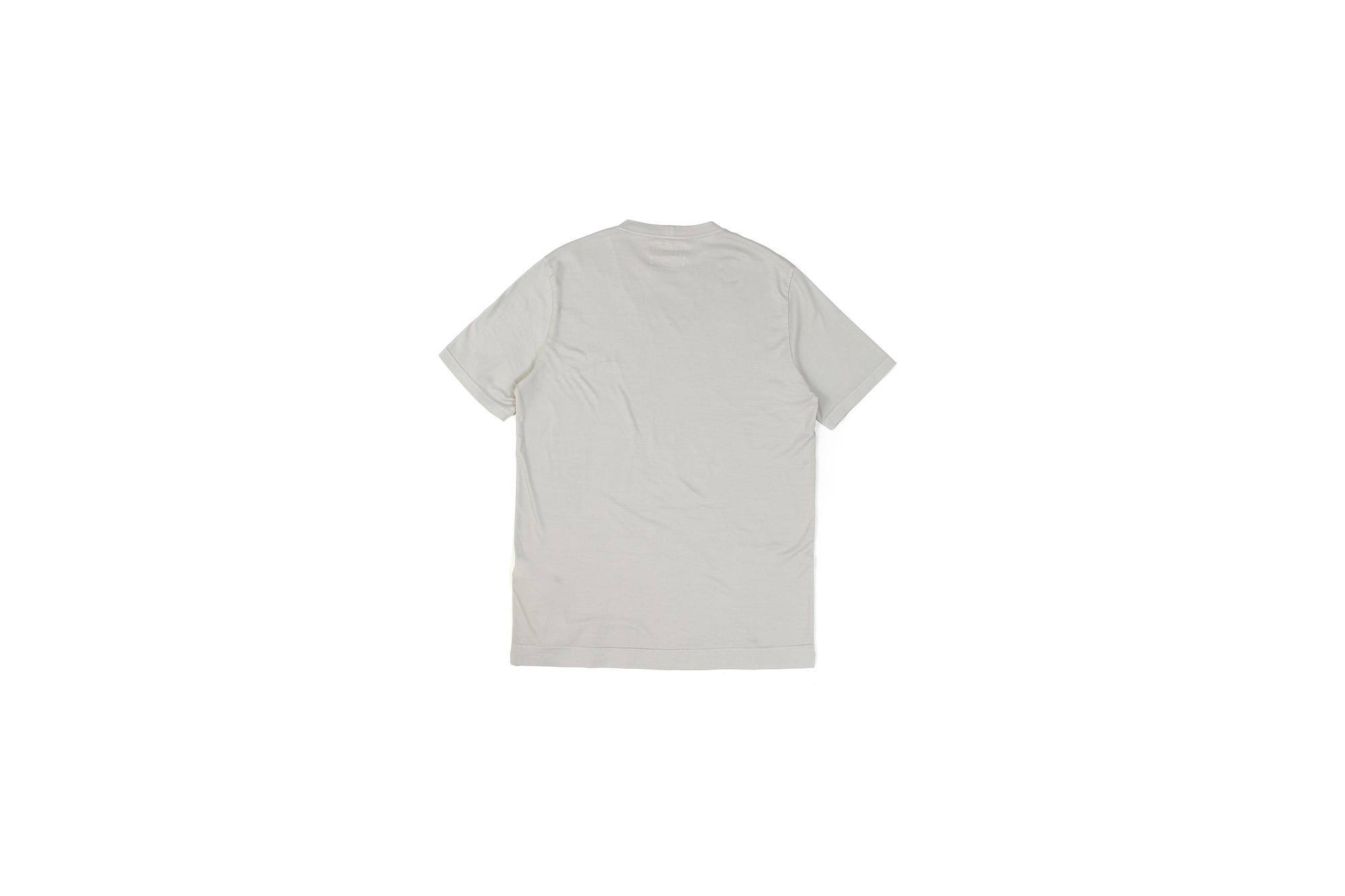 FEDELI(フェデリ) Crew Neck T-shirt (クルーネック Tシャツ) ギザコットン Tシャツ GRAY (グレー・55) made in italy (イタリア製) 2021 春夏【ご予約受付中】愛知 名古屋 altoediritto アルトエデリット スペシャルモデル TEE 半袖TシャツFEDELI(フェデリ) Crew Neck T-shirt (クルーネック Tシャツ) ギザコットン Tシャツ GRAY (グレー・55) made in italy (イタリア製) 2021 春夏【ご予約受付中】愛知 名古屋 altoediritto アルトエデリット スペシャルモデル TEE 半袖Tシャツ