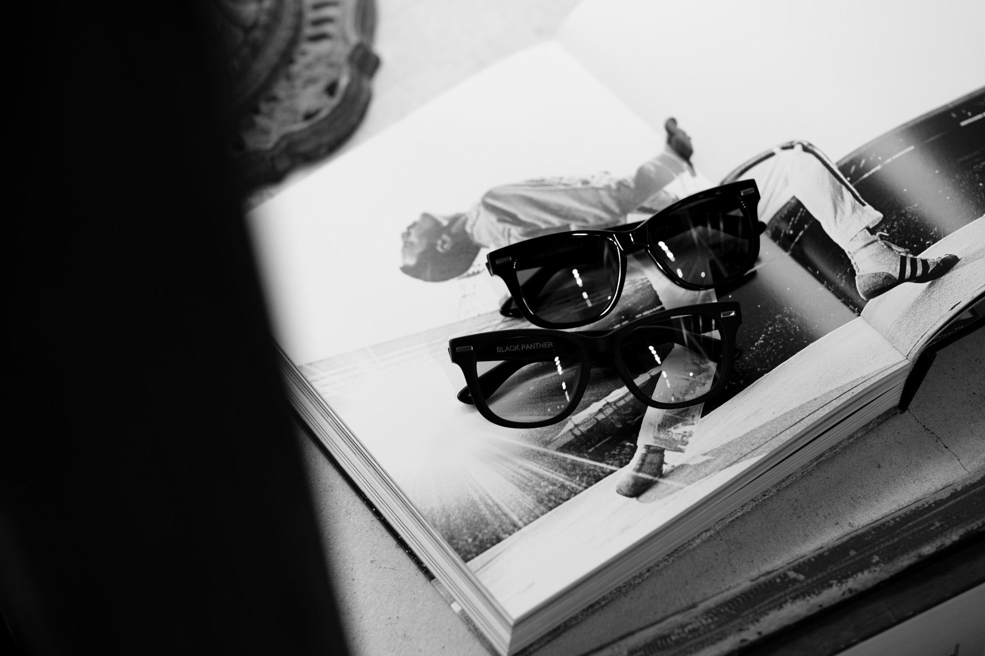 FIXER BLACK PANTHER 925 STERLING SILVER サングラス MATTE BLACK × LIGHT GRAY /// FIXER BLACK PANTHER 925 STERLING SILVER サングラス BLACK × BLACK SMOKE フィクサー ブラックパンサー 925シルバー マットブラック ライトグレー 愛知 名古屋 Alto e Diritto altoediritto アルトエデリット 眼鏡 アイウエア
