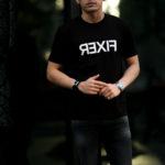 FIXER (フィクサー) FTS-03 Reverse Print Crew Neck T-shirt リバースプリント Tシャツ BLACK (ブラック) 【ご予約受付中】【2021.2.15(Tue)~2021.2.28(Sun)】のイメージ
