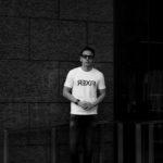 FIXER (フィクサー) FTS-03 Reverse Print Crew Neck T-shirt リバースプリント Tシャツ WHITE (ホワイト) 【ご予約受付中】【2021.1.31(Sun)~2021.2.11(Thu)】のイメージ