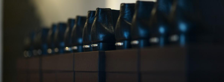 Georges de Patricia(ジョルジュ ド パトリシア) Diablo (ディアブロ) 925 STERLING SILVER (925 スターリングシルバー) Shrunken Calf (シュランケンカーフ) サイドゴアブーツ NOIR (ブラック) 2021 新作 【Special Boots】のイメージ