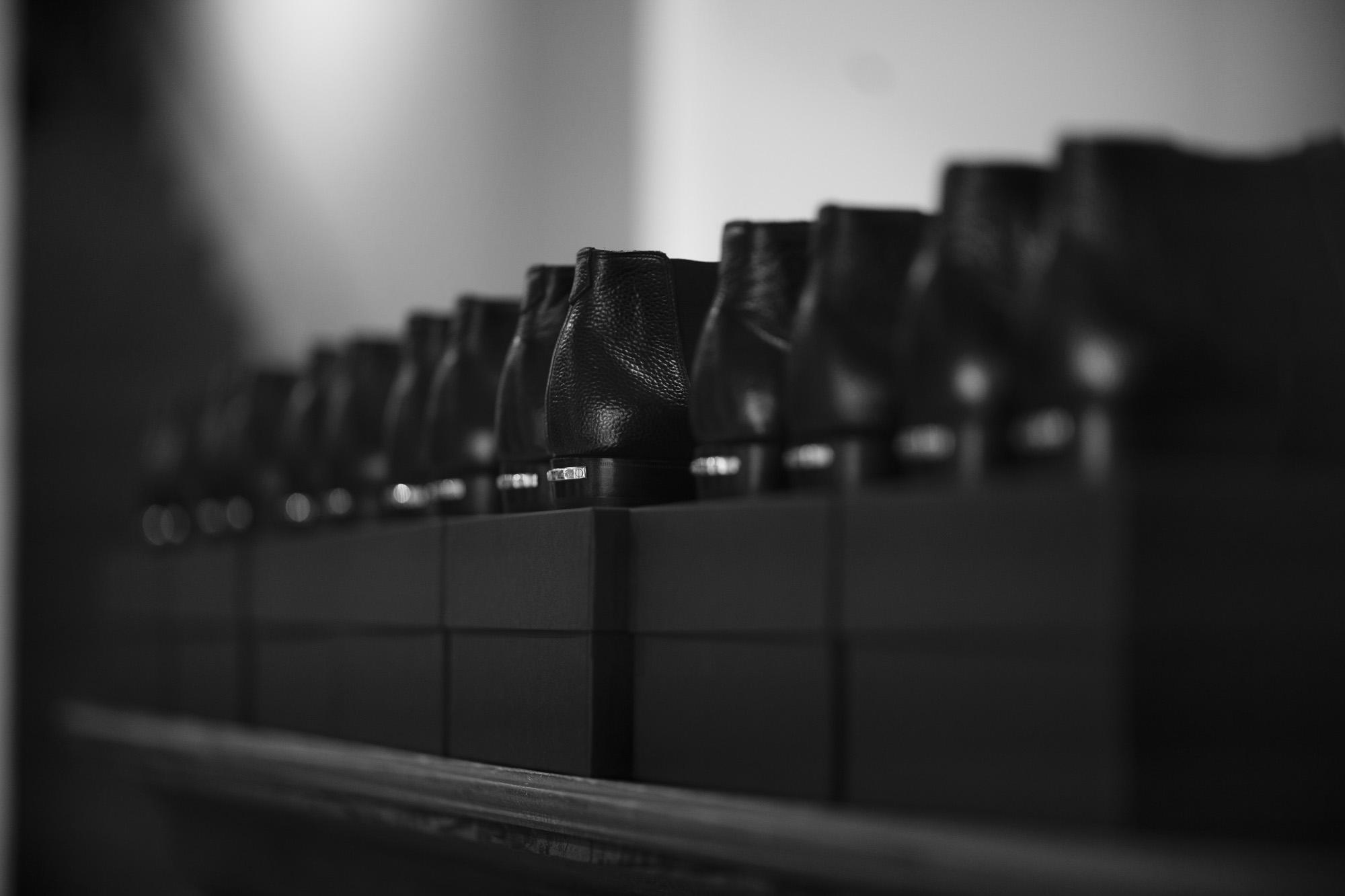 Georges de Patricia(ジョルジュ ド パトリシア) Diablo (ディアブロ) 925 STERLING SILVER (925 スターリングシルバー) Shrunken Calf (シュランケンカーフ) サイドゴアブーツ NOIR (ブラック) 2021 新作 【Special Boots】アルトエデリット ジョルジュドパトリシア ブーツ 超絶ブーツ ランボルギーニ ディアブロ lamborghini AUDEMARS PIGUET Royal Oak 26331ST オーデマピゲ ロイヤルオーク ステンレス クロノグラフ