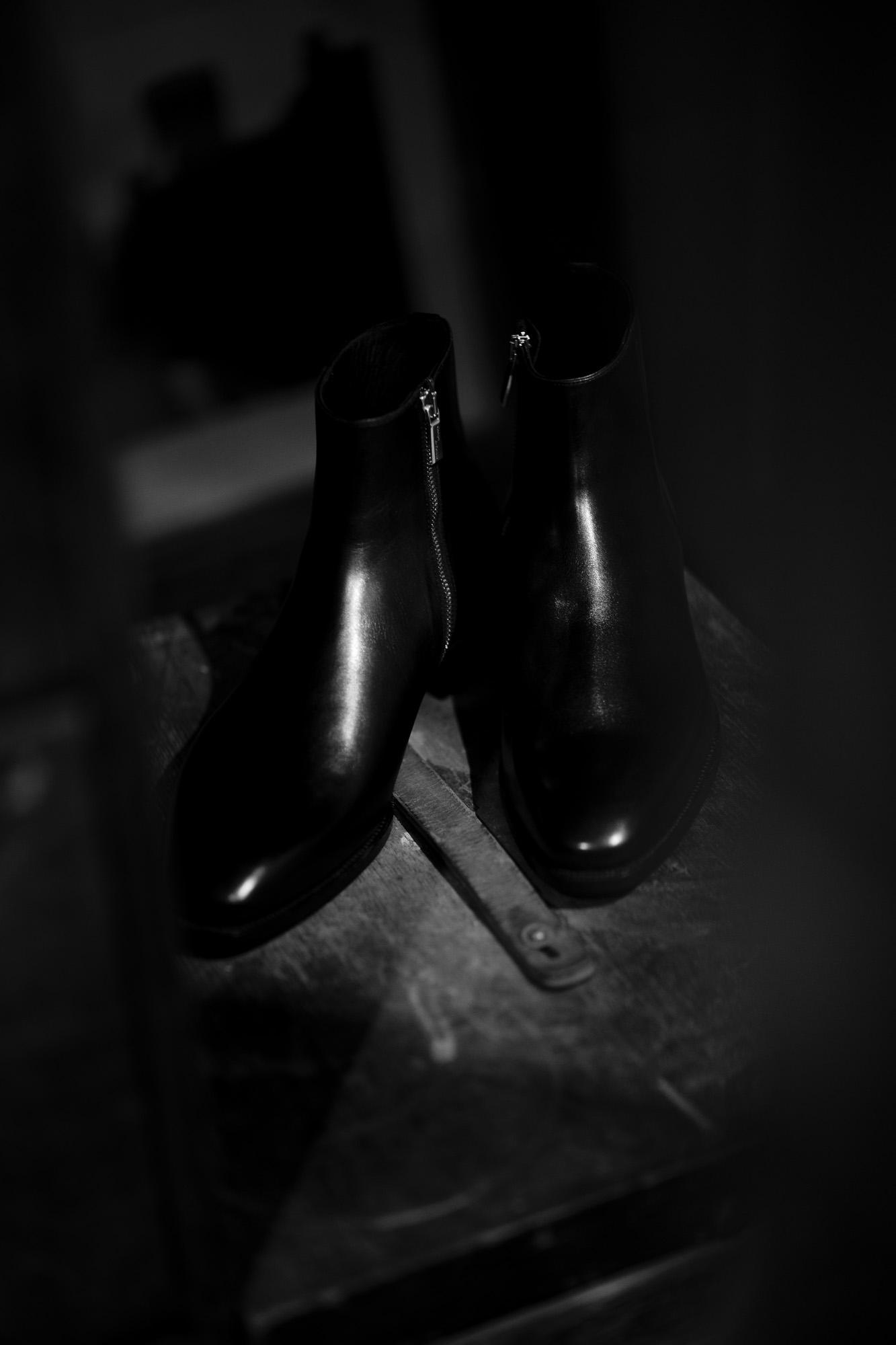 "Georges de Patricia ""Stradale""【Special Boots】 SF90 ストラダーレ フェラーリ PHEV ジョルジュドパトリシア ジップアップブーツ 925スターリングシルバー ブーツ 愛知 名古屋 Alto e Diritto altoediritto アルトエデリット"