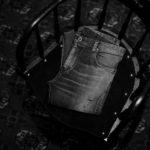 "ISAMU KATAYAMA BACKLASH ""Denim"" BLACK 2021 【Special Model】【Alto e Diritto別注】イサムカタヤマ バックラッシュ ストレッチ デニムパンツ クラッシュデニム ブラック ブラックデニム 黒デニム ブラックデニムパンツ 愛知 名古屋 Alto e Diritto altoediritto アルトエデリット"