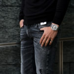 "PT TORINO DENIM ""ROCK"" SKINNY FIT ""BLACK・LT24"" 2021SSのイメージ"