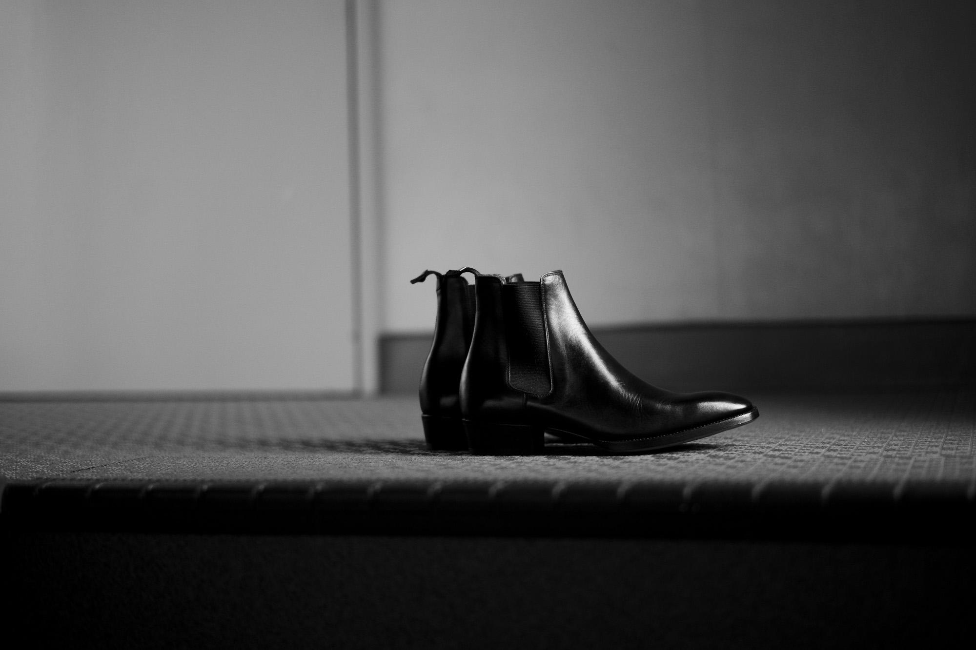 WH(ダブルエイチ) WH-6900 ELVIS Last(エルビスラスト) ANNONAY FUNCHAL Calf Leather サイドゴアブーツ BLACK (ブラック) MADE IN JAPAN (日本製) 2021 秋冬 【ご予約受付中】愛知 名古屋 Alto e Diritto altoediritto アルトエデリット