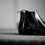 WH(ダブルエイチ) WH-6900 ELVIS Last(エルビスラスト) ANNONAY FUNCHAL Calf Leather サイドゴアブーツ BLACK (ブラック) MADE IN JAPAN (日本製) 2021 秋冬 【ご予約受付中】のイメージ