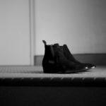 WH(ダブルエイチ) WH-6900S ELVIS Last(エルビスラスト) LONDON Calf Leather スエードレザー サイドゴアブーツ BLACK (ブラック) MADE IN JAPAN (日本製) 2021 秋冬 【ご予約受付中】のイメージ