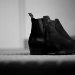 WH(ダブルエイチ) WH-6900 ELVIS Last(エルビスラスト) LONDON Calf Leather スエードレザー サイドゴアブーツ BLACK (ブラック) MADE IN JAPAN (日本製) 2021 秋冬 【ご予約受付中】 愛知 名古屋 Alto e Diritto altoediritto アルトエデリット