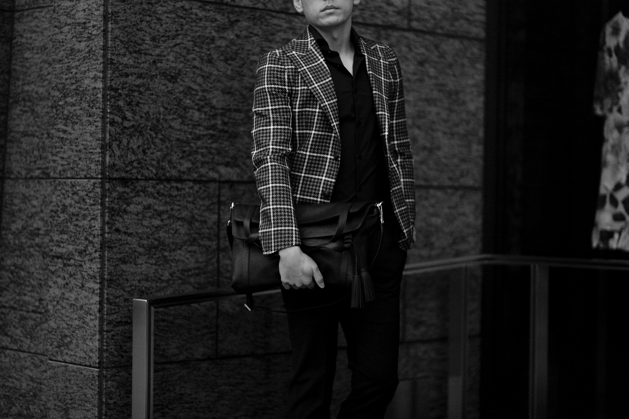 ACATE (アカーテ) GREGALE(グレゲール) Montblanc leather (モンブランレザー) レザーバッグ NERO (ネロ) MADE IN ITALY (イタリア製) 2021【Special Model】【Alto e Diritto別注】愛知 名古屋 Alto e Diritto altoediritto アルトエデリット ショルダーバック