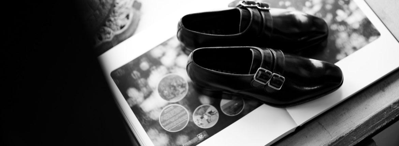 AUBERCY (オーベルシー) NEIL 762 Double Monk (ニール) Du Puy Vitello デュプイ社ボックスカーフ ドレスシューズ ダブルモンクストラップシューズ NERO (ブラック) made in italy (イタリア製) 2021 春夏新作 愛知 名古屋 Alto e Diritto altoediritto アルトエデリット ダブルモンク