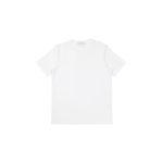 Cruciani (クルチアーニ) Cotton Stretch Crew Neck T-shirt (コットン ストレッチ クルーネック Tシャツ) クルーネック Tシャツ WHITE (ホワイト・1000) made in italy (イタリア製) 2021 春夏新作 【入荷しました】【フリー分発売開始】のイメージ