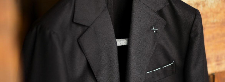 De Petrillo (デ ペトリロ) NUVOLA (ヌーボラ) サマーカシミア ジャケット BLACK (ブラック・146) Made in italy (イタリア製) 2021 春夏新作 【入荷しました】【フリー分発売開始】depetrillo デペトリロ 愛知 名古屋 Alto e Diritto altoediritto アルトエデリット カシミアジャケット カシミヤジャケット 紺ジャケット