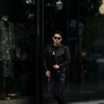 FIXER(フィクサー) F1(エフワン) DOUBLE RIDERS Cow Leather ダブルライダース ジャケット BLACK(ブラック) 【ご予約開始します】【2021.3.06(Sat)~2021.3.21(Sun)】愛知 名古屋 Alto e Diritto アルトエデリット ライダースジャケット レザージャケット ダブルレザー セミダブル