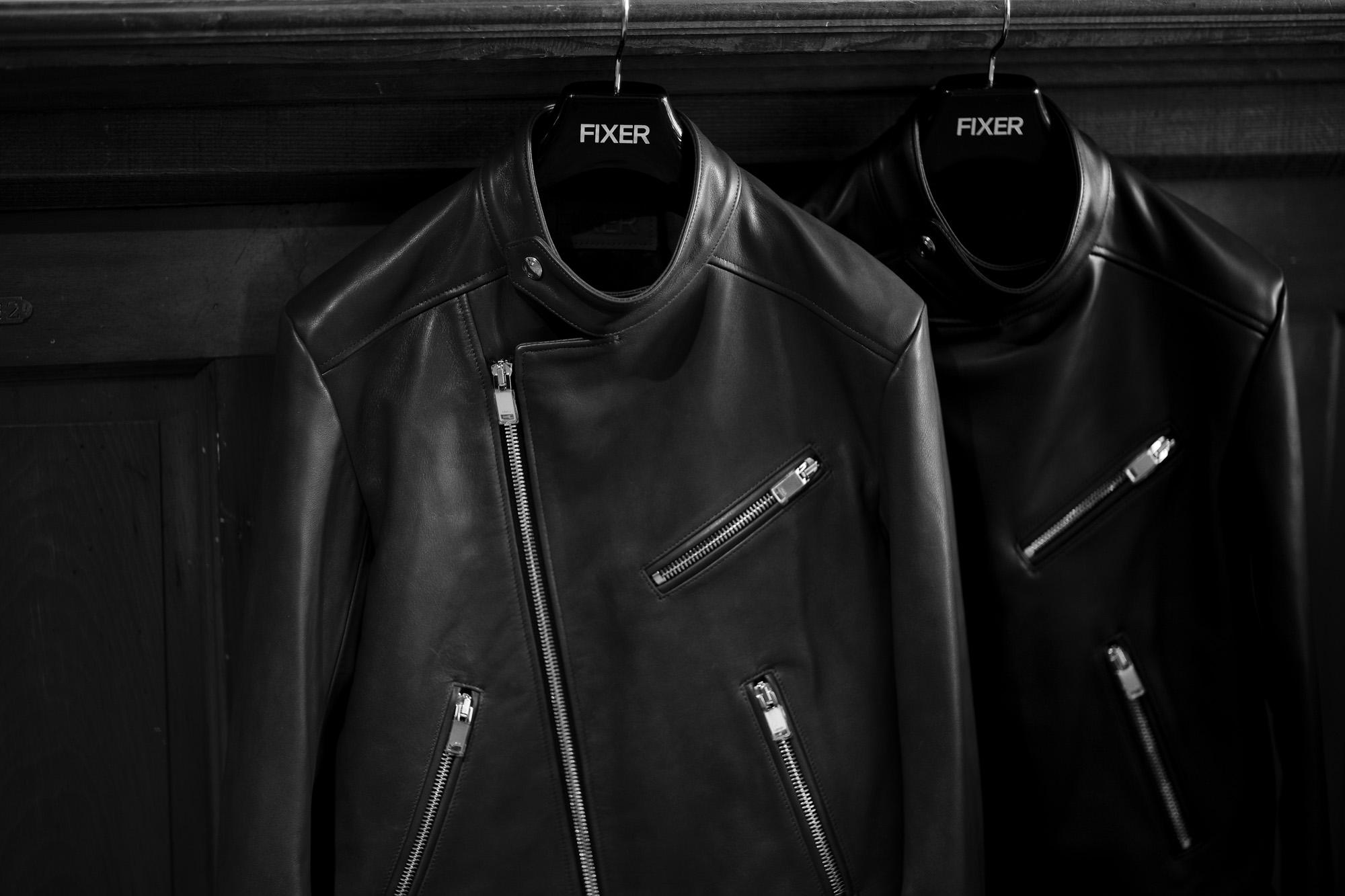 FIXER F1 DOUBLE RIDERS Cow Leather BLACK,BROWN フィクサー エフワン ダブルライダース ブラック ブラウン レザージャケット ライダースジャケット 愛知 名古屋 Alto e Diritto altoediritto アルトエデリット