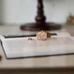 "FIXER ILLUMINATI EYES RING ""18K GOLD"" × AUDEMARS PIGUET ""Royal Oak 15451OR ORANGE SAPPHIRE""のイメージ"