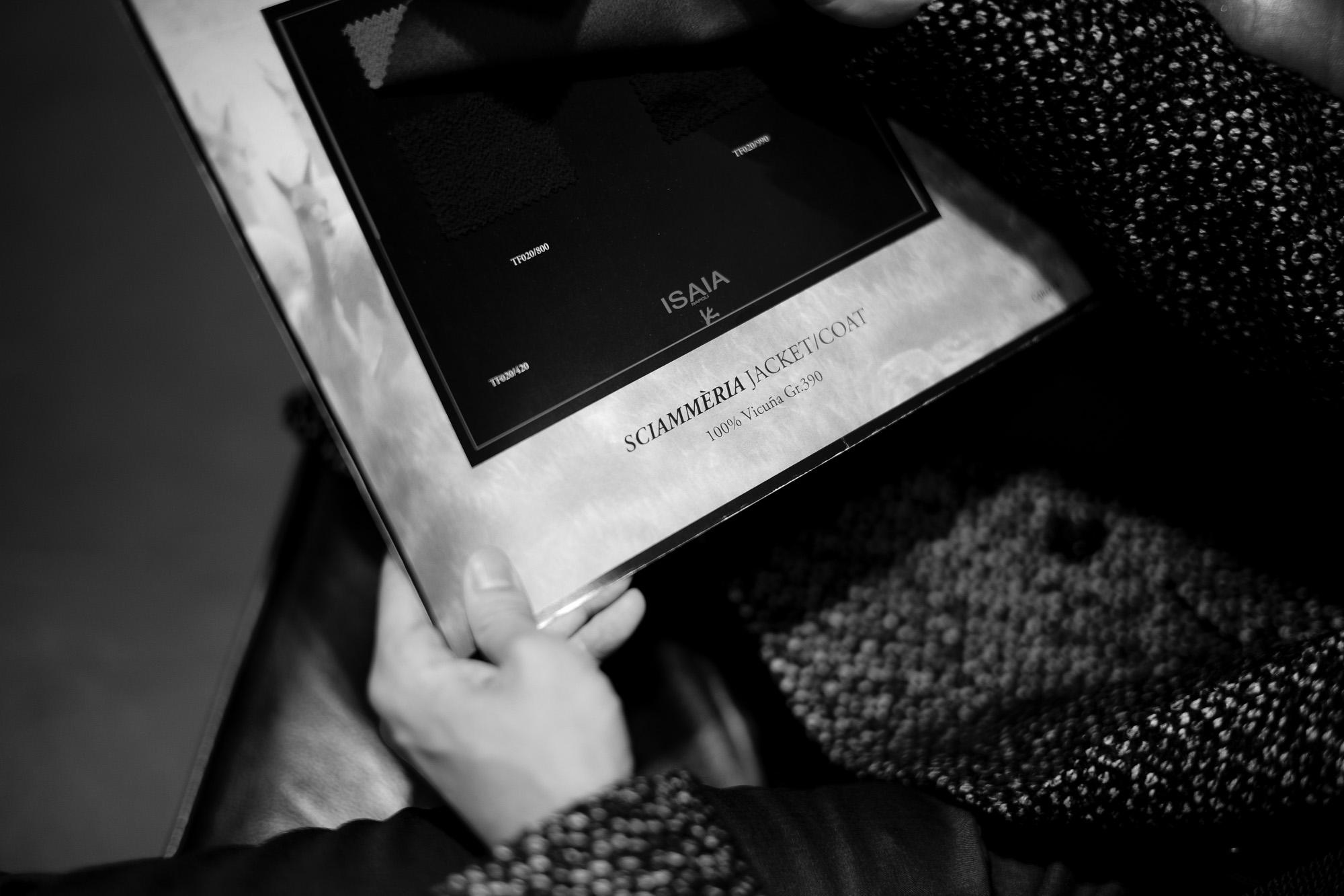 "ISAIA ""100% Vicuna"" Single Chester Coat , Double Chester Coat 2021 AW 【Special Model】 イザイア 2021秋冬 ビキューナ 超絶生地 COAT コート シングルコート ダブルコート チェスターコート スペシャルモデル  愛知 名古屋 Alto e Diritto altoediritto アルトエデリット"