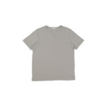 nomiamo (ノミアモ) SUPIMA 80/1 Key Neck T-shirt スーピマコットン キーネック Tシャツ GREGE (グレージュ) 2021 春夏 【Alto e Diritto別注】【Special限定モデル】【入荷しました】【フリー分発売開始】のイメージ