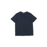 nomiamo (ノミアモ) SUPIMA 80/1 Key Neck T-shirt スーピマコットン キーネック Tシャツ NAVY (ネイビー) 2021 春夏 【Alto e Diritto別注】【Special限定モデル】【入荷しました】【フリー分発売開始】のイメージ