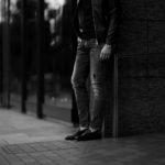 PT TORINO DENIM (ピーティートリノデニム) ROCK (ロック) SKINNY FIT (スキニーフィット) ストレッチ クラッシュ デニムパンツ BLACK (ブラック・LT24) 2021春夏 【Special Model】愛知 名古屋 Alto e Diritto altoediritto アルトエデリット グレーデニム ブラックデニム クラッシュデニム