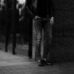 PT TORINO DENIM ROCK SKINNY FIT BLACK・LT24 2021 ピーティートリノデニム ロック スキニーフィット ストレッチ クラッシュ デニムパンツ ブラック・LT24 愛知 名古屋 Alto e Diritto altoediritto アルトエデリット ブラックデニム グレーデニム