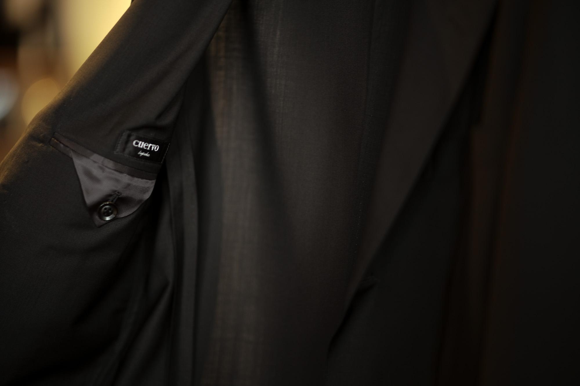 "cuervo bopoha ""Lobb"" Summer Wool BLACK,NAVY 2021SS  クエルボ ヴァローナ ロブ サマーウール ジャケット ブラック MADE IN JAPAN 日本製 愛知 名古屋 Alto e Diritto altoediritto アルトエデリット サマージャケット ブラックジャケットネイビージャケット"