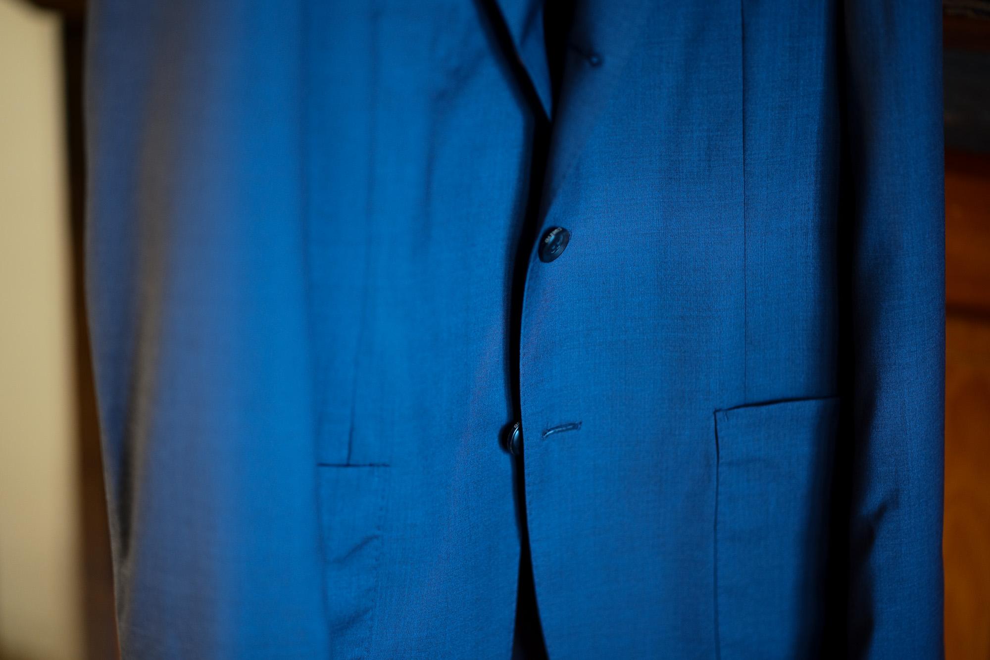 cuervo bopoha (クエルボ ヴァローナ) Sartoria Collection (サルトリア コレクション) Lobb (ロブ) Summer Wool サマーウール ジャケット NAVY (ネイビー) MADE IN JAPAN (日本製) 2021 春夏新作 愛知 名古屋 Alto e Diritto altoediritto アルトエデリット サマージャケット ブラックジャケットネイビージャケット