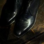 "ENZO BONAFE ""ART.3722"" Chukka boots LIZARD BLUE 2021 【Special Model】のイメージ"