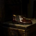 ENZO BONAFE (エンツォボナフェ) CARY GRANT III(ゲーリーグラント3)  MUSEUM CALF(ミュージアムカーフ)  Side gore Boots サイドゴアブーツ DARK BROWN(ダークブラウン) made in italy (イタリア製) 2021のイメージ