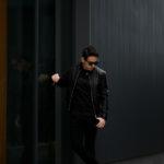 FIXER(フィクサー) F2(エフツー) SINGLE RIDERS Cow Leather シングルライダース ジャケット BLACK(ブラック) 【ご予約開始】【2021.4.18(Sun)~2021.5.03(Mon)】愛知 名古屋 Alto e Diritto altoediritto アルトエデリット