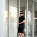 FIXER (フィクサー) FTS-01(エフティーエス01) 2 Print Crew Neck T-shirt 2プリントTシャツ BLACK (ブラック) 【ご予約開始】【2021.4.17(Sat)~2021.5.03(Mon)】のイメージ