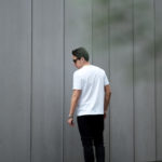 FIXER (フィクサー) FTS-01(エフティーエス01) 2 Print Crew Neck T-shirt 2プリントTシャツ WHITE (ホワイト) 【ご予約開始】【2021.4.17(Sat)~2021.5.03(Mon)】のイメージ