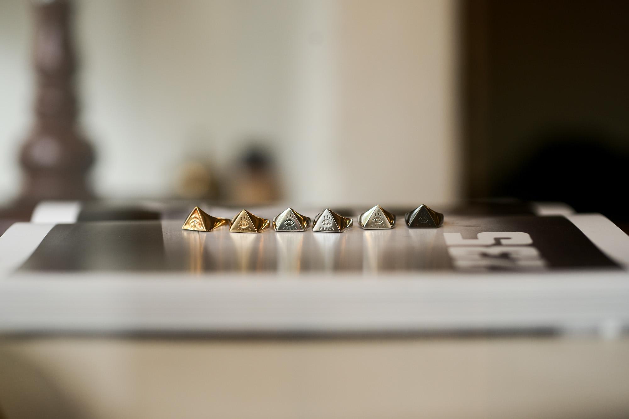 """FIXER """"ILLUMINATI EYES RING 18K GOLD SP"""" × FIXER """"ILLUMINATI EYES RING 18K GOLD"""" × FIXER """"ILLUMINATI EYES RING PLATINUM PT 950"""" × FIXER """"ILLUMINATI EYES RING 18K WHITE GOLD"""" × FIXER """"ILLUMINATI EYES RING 925 STERLING SILVER"""" × FIXER """"ILLUMINATI EYES RING BLACK RHODIUM"""" フィクサー イルミナティ アイズリング 18Kゴールド プラチナ 18Kホワイトゴールド 925シルバー ブラックロジウム 愛知 名古屋 Alto e Diritto altoediritto アルトエデリット"""