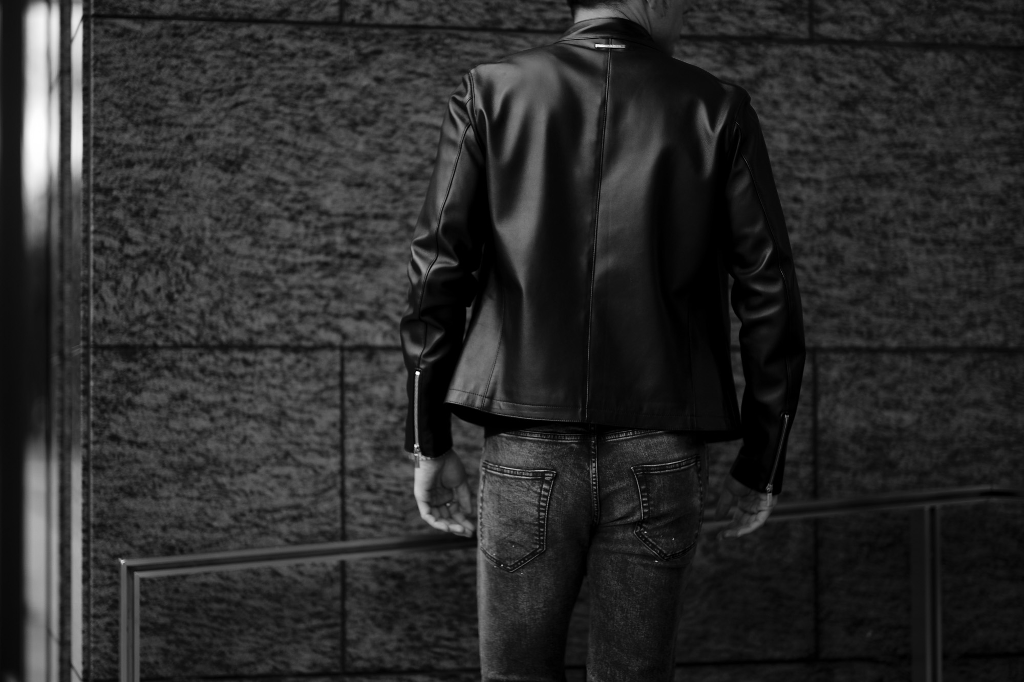Georges de Patricia ジョルジュドパトリシア Carrera カレラ 925 STERLING SILVER 925 スターリングシルバー Super Soft Sheepskin シングル ライダース ジャケット NOIR ブラック 2021 愛知 名古屋 altoediritto アルトエデリット レザージャケット ライダースジャケット