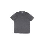 Gran Sasso (グランサッソ) Silk T-shirt (シルク Tシャツ) SETA (シルク 100%) ショートスリーブ シルク Tシャツ GREY (グレー・264) made in italy (イタリア製) 2021 春夏新作のイメージ